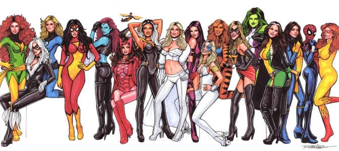 Marvel Women Beefed Up For Marvel Gaming March