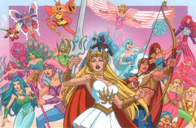 Mattel Unleashes SDCC Exclusive She-Ra Figure