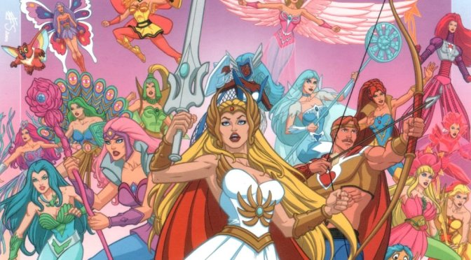 Mattel Unleashes SDCC Exclusive She-Ra Figure