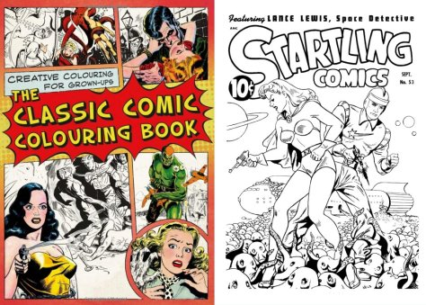 creative colouring for grown ups the classic comic colouring book price guide hard copy 17aud from booktopia - Comic Book Coloring