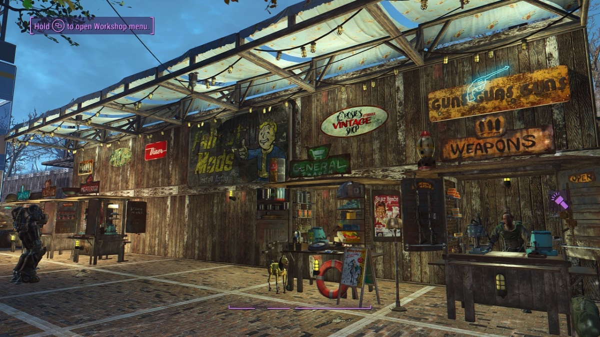Fallout 4 Mods for PS4 Officially Scrapped.....For Now.
