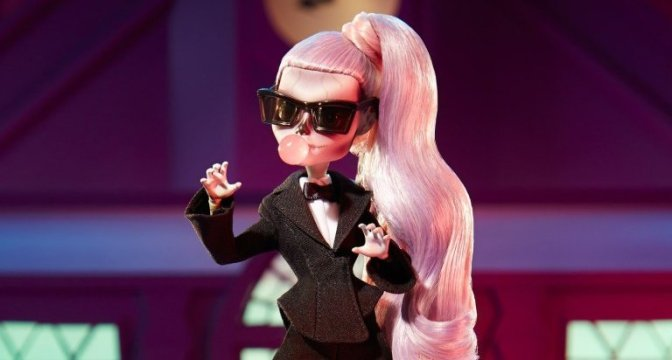 Lady Gaga Joins the Monster High Gang