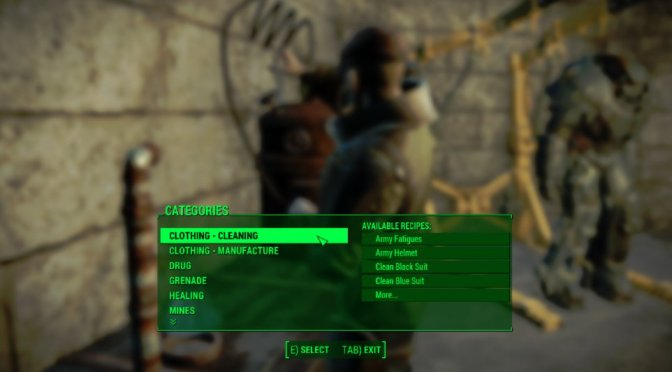 Fallout 4 Mods for PS4 have Began to Appear on Bethesda Website