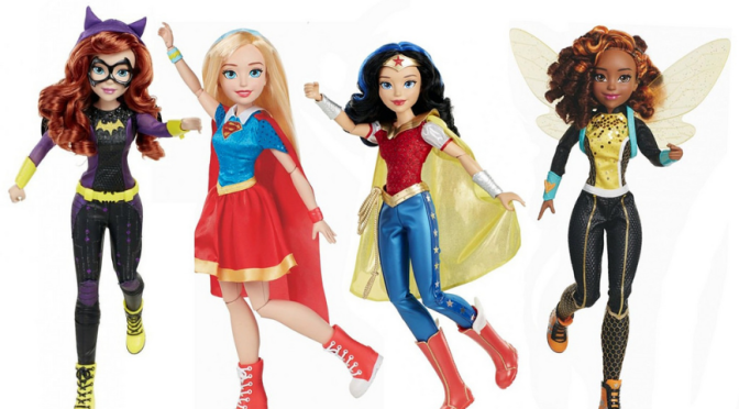 Jakks Pacific Joins the DC SuperHero Girl Line