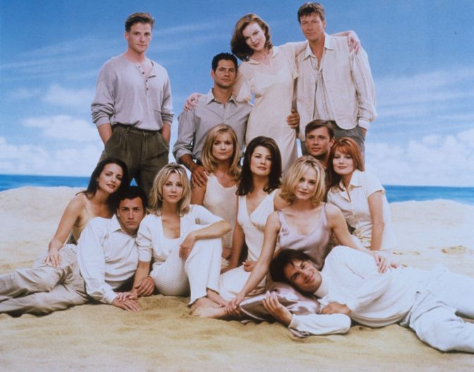 The Melrose Place Podcast You Should Be Listening To and the Fashion of Melrose.
