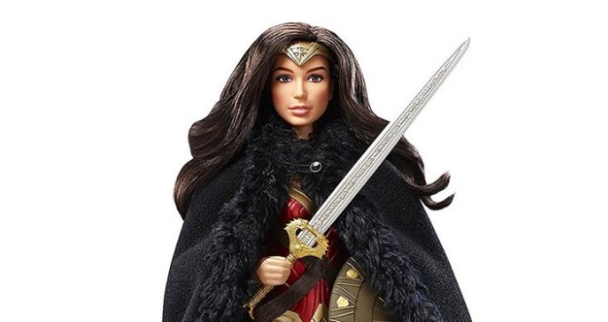 Toy Review: 2017 Black Label Wonder Woman Barbie