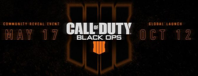 The Rumors are True!  Black Ops 4 is Coming.
