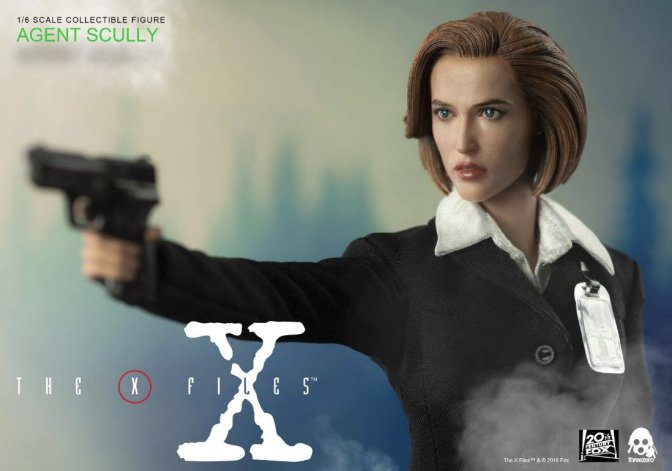 ThreeZero's X-Files Dana Scully Figure Details and Pre-Order