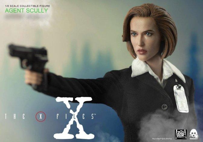 ThreeZero's X-Files Dana Scully Figure Details and Pre-Order