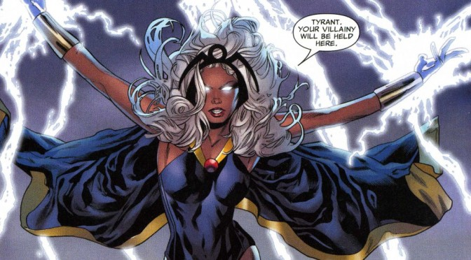 Did Marvel just give us a sneak peek look at the upcoming storm barbie?