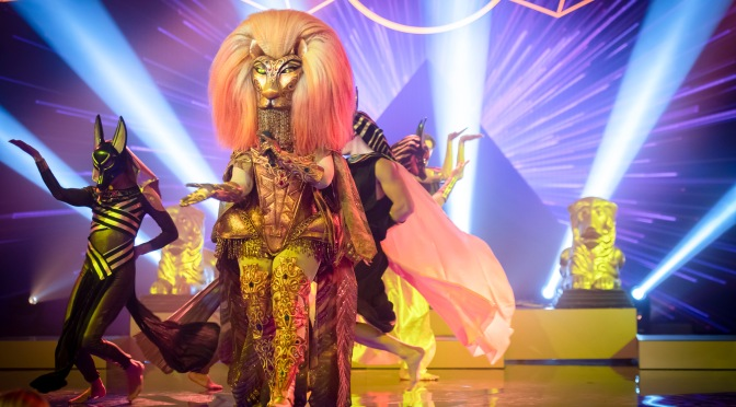 Who's under the mask?!  The Masked Singer australia First episode review.